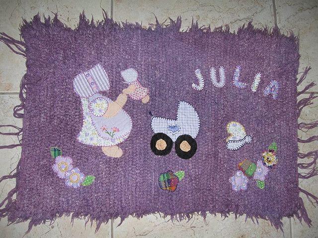 2 - Tapete para Júlia que nasceu em fevereiro