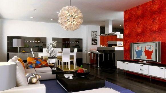 DECORACION DE SALA COMEDOR DINING ROOM en http://artesydisenos ...