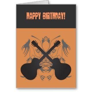 happy birthday rock n roll themed