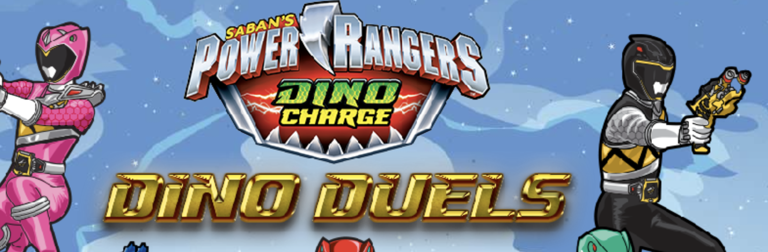 Play Power Rangers Dino Duels Game in