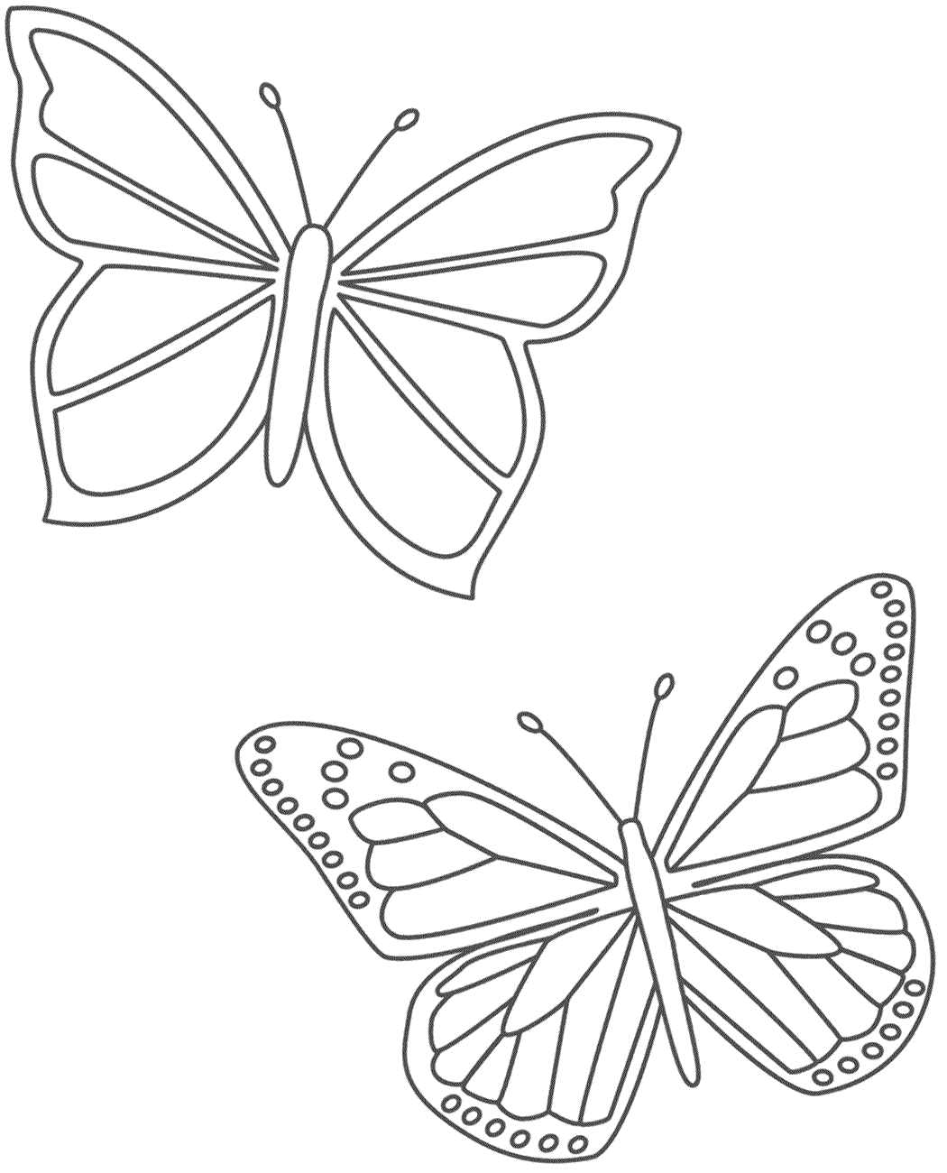 Coloring Page Butterfly Coloring Page Insect Coloring Pages