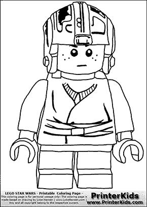 Lego Star Wars Young Anakin Skywalker Pilot With Helmet