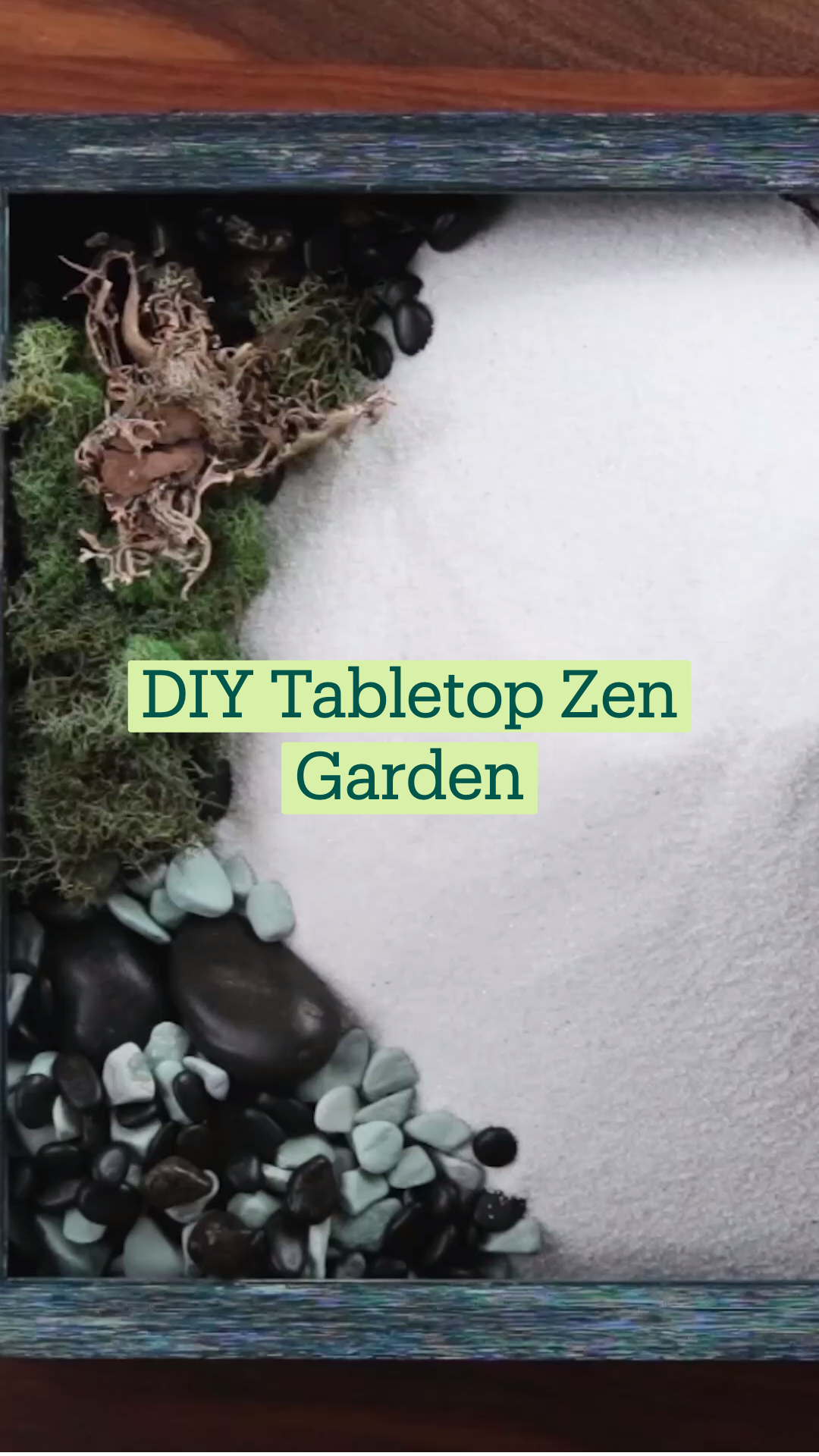 DIY Tabletop Zen Garden