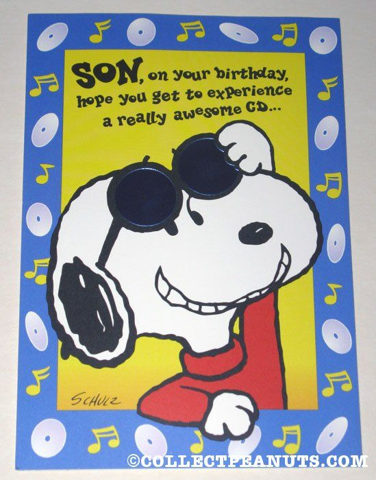 Happy Birthday To You Woodstock Sitting On Snoopy S Head In A Field Of Flowers Snoopy Birthday Birthday Wishes Funny Birthday Wishes For Kids