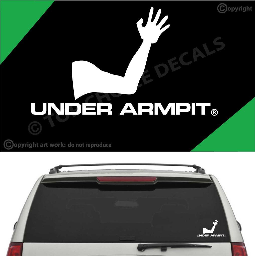 Under Armpit Funny Auto Decal Car Sticker Car Stickers - Funny decal stickers for carssticker car window picture more detailed picture about funny car