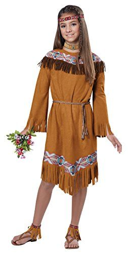 California Costumes Classic Indian Girl Child Costume Small *** Details can be found by  sc 1 st  Pinterest & California Costumes Classic Indian Girl Child Costume Small ...