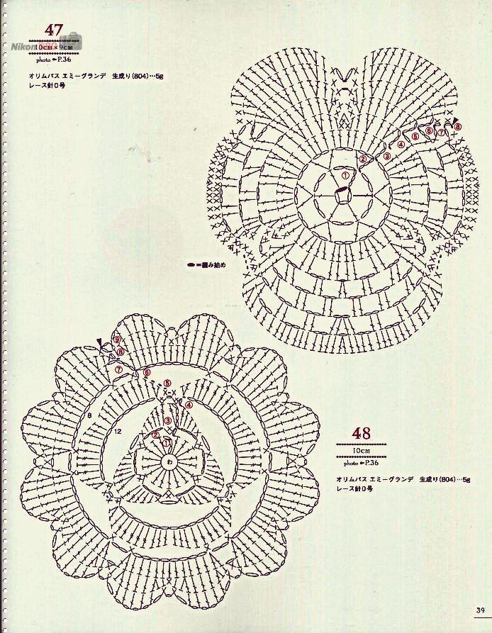 Pin de Miriam Maria Bianchi en Graficos crochet | Pinterest | Croché ...
