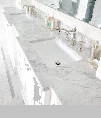 Countertop Super White Granite For Elegant Bathroom