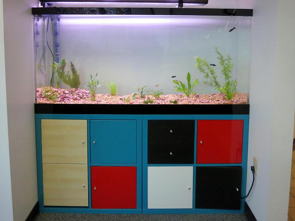 Aquarium Kallax Fish Tank Stand Kallax Aquarium Stand