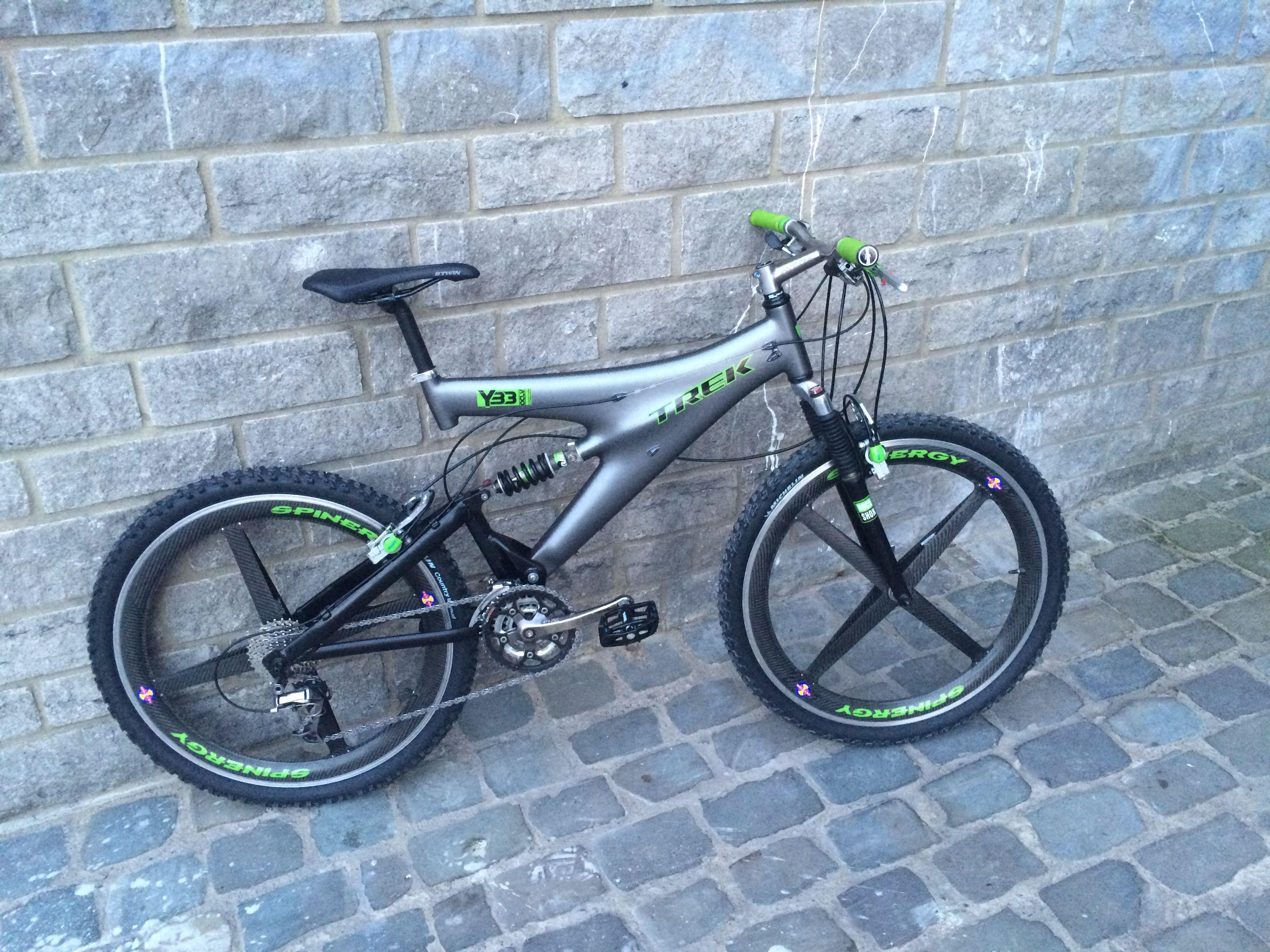 Trek Y 33 Dam S Bike Vintage Mountain Bike Bicycle Design