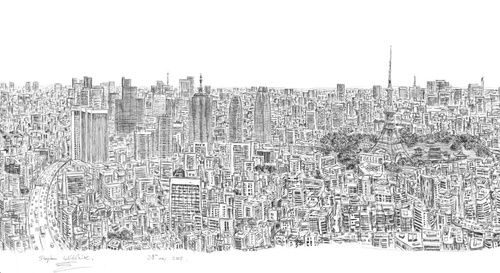 Creating A City From Memory Stephen Wiltshire Autistic Artist City