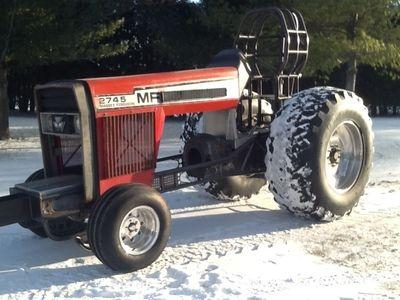 For Sale: V8 Massey Pulling Tractor | RacingJunk com