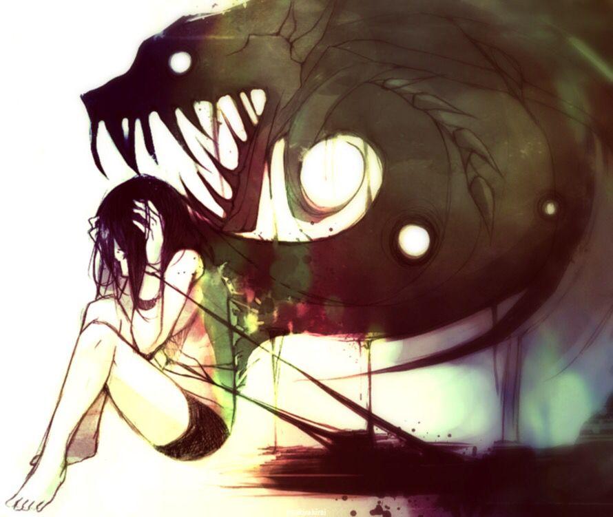 People 39 s inner demon anime pinterest - Dessin de demon ...