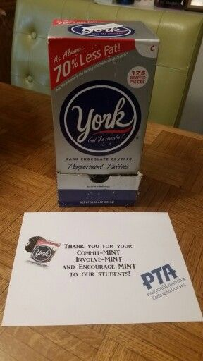 Teacher Appreciation - York peppermint patties | Teacher ...