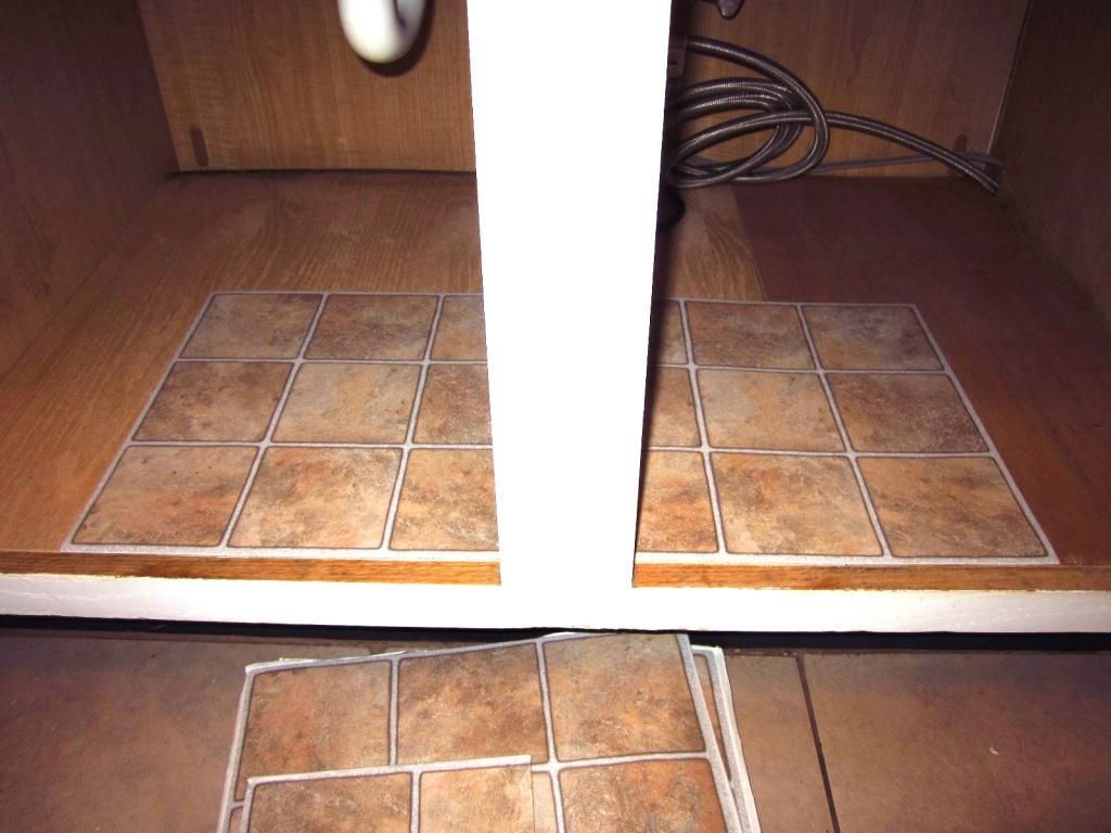 How To Fix A Warped Cabinet Floor Under Kitchen Sinks Under Bathroom Sinks Wood Repair