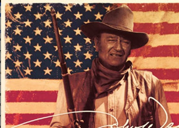 John Wayne Flag Poster John wayne, American flag, Poster