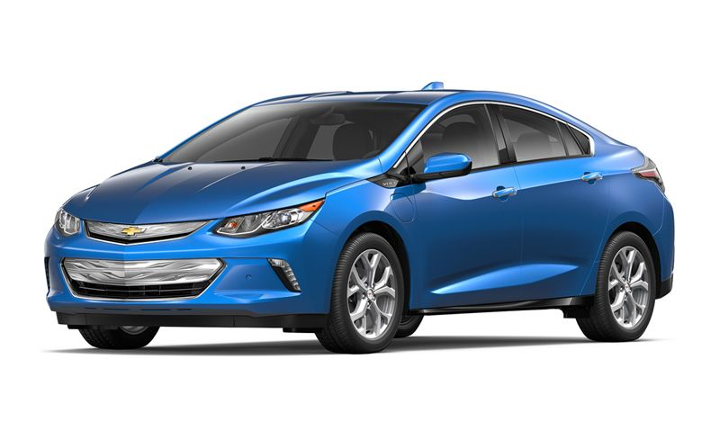 Chevrolet Volt Wins Best Hybrid Car of 2016