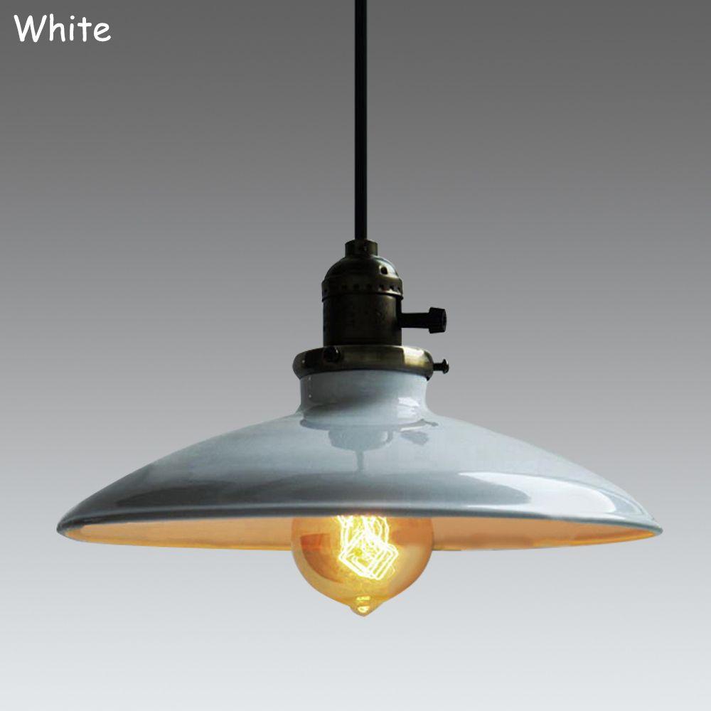Loft vintage pendant lamp dia mm e aluminum iron retro northern