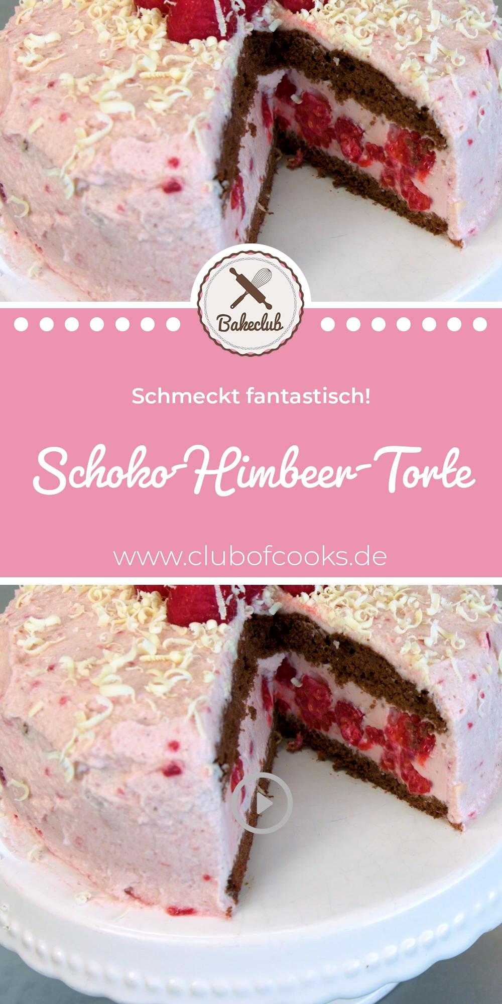 Schoko-Himbeer-Torte | BakeClub
