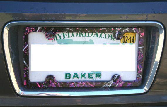 Muddy Girl License Plate Frame   Pinterest   License plate frames ...