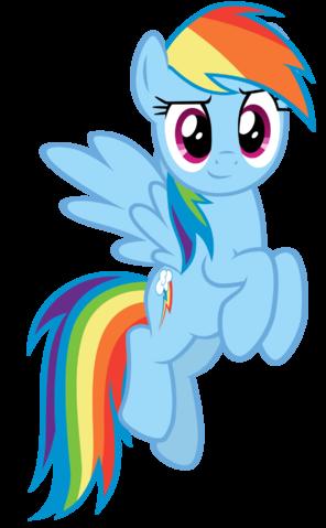 Fanmade Rainbow Dash Confident Vector Png Rainbow Dash My Little Pony Rainbow