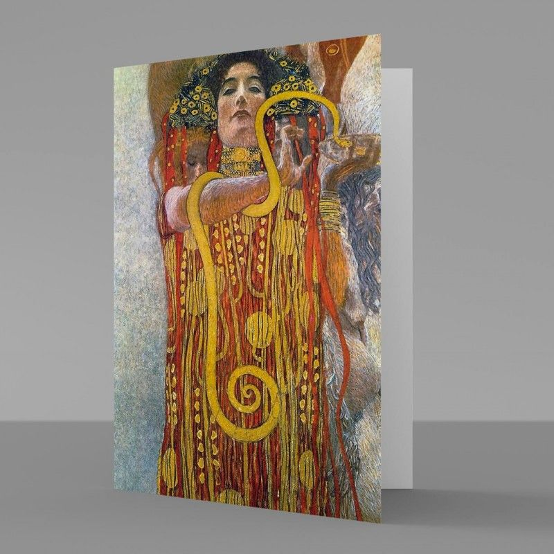 Gustav klimt hygieia 1900 1907 fine art greetings card gustav gustav klimt hygieia 1900 1907 fine art greetings card m4hsunfo