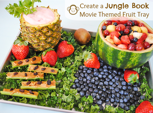 Swing to the Music of The Jungle Book with This Movie Themed Fruit Tray #JungleFresh #shop #cbias