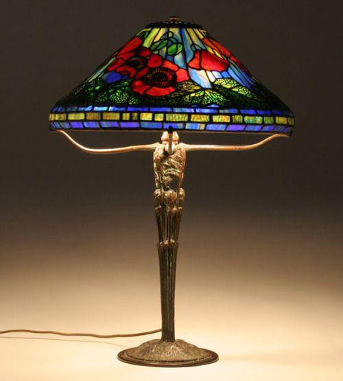 Greystroke54 Poppy By Tiffany Lamp Co Tiffany And Co And