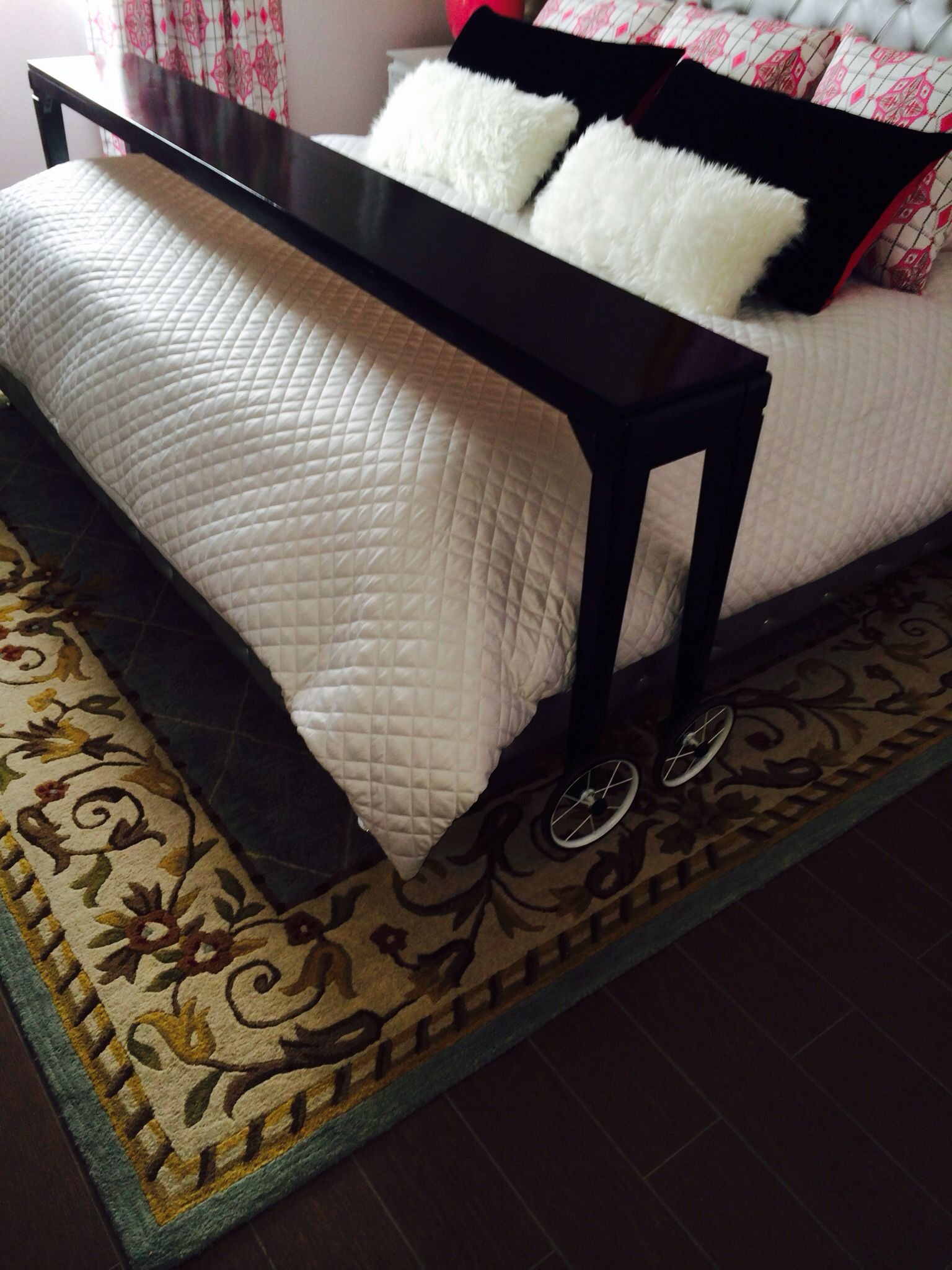 Rolling Bed Table Check Now Posted On Las Vegas Craigslist For 150 00 3 1 2014 Bed Table Creative Beds Rolling Bed