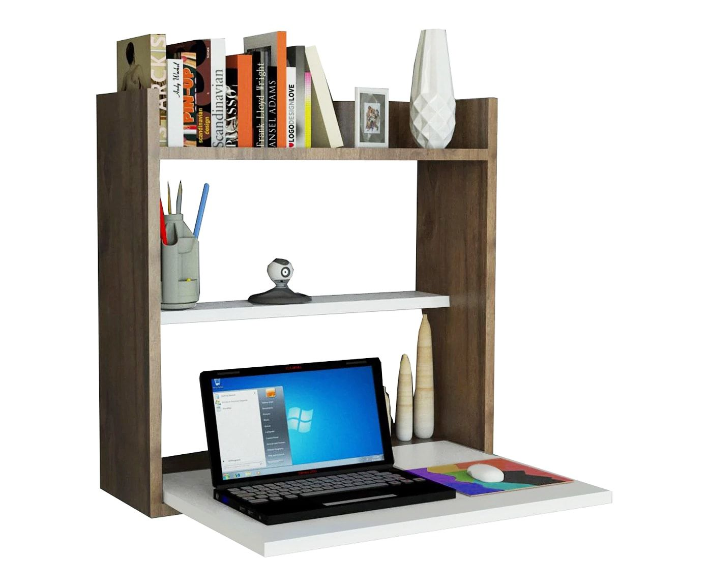 Scrivania a scomparsa Laptop | Dalani Home & Living | idee&soluzioni ...