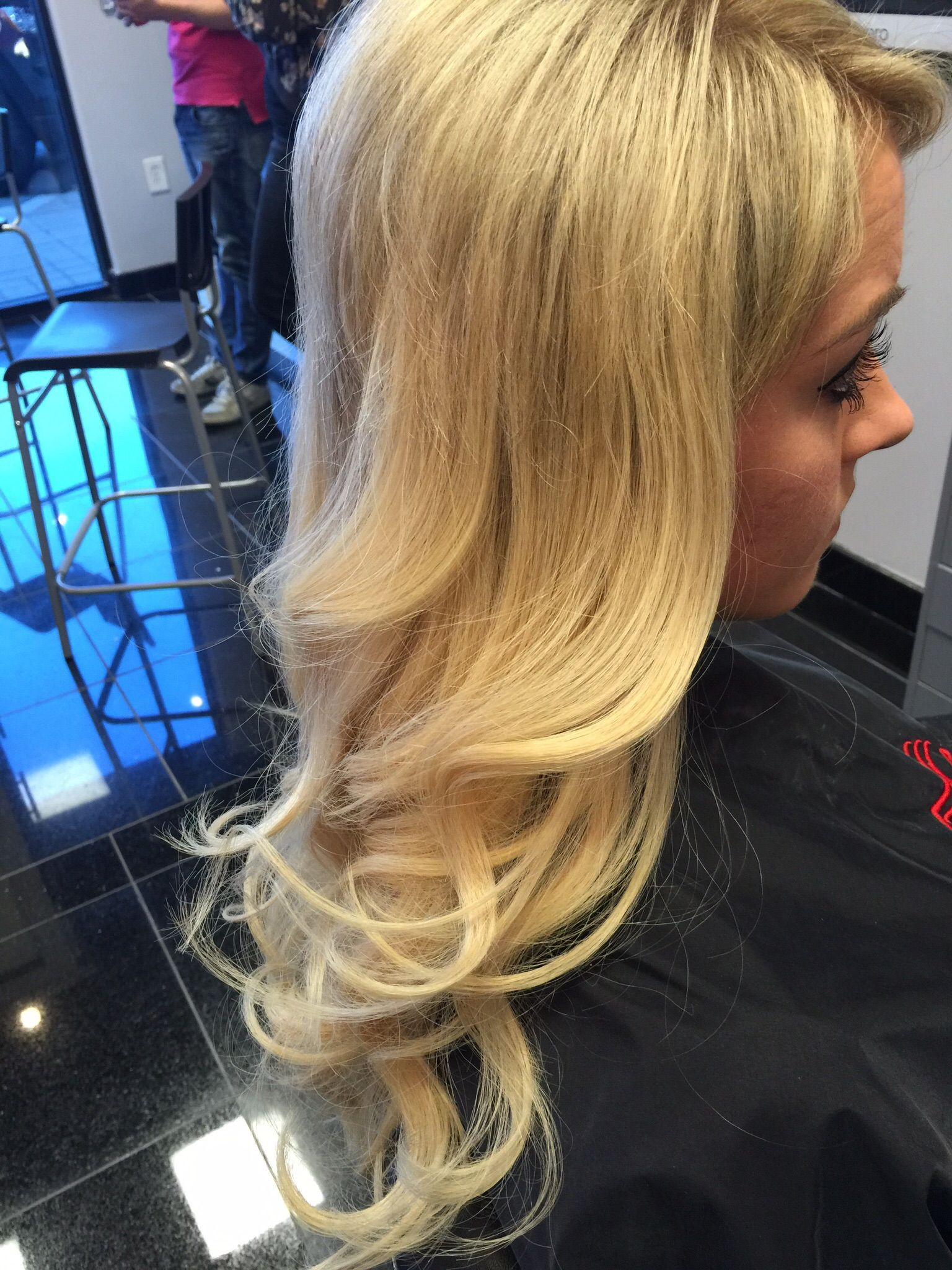 This Is Tiffanys Client After Applying Hairdreams Quikkies