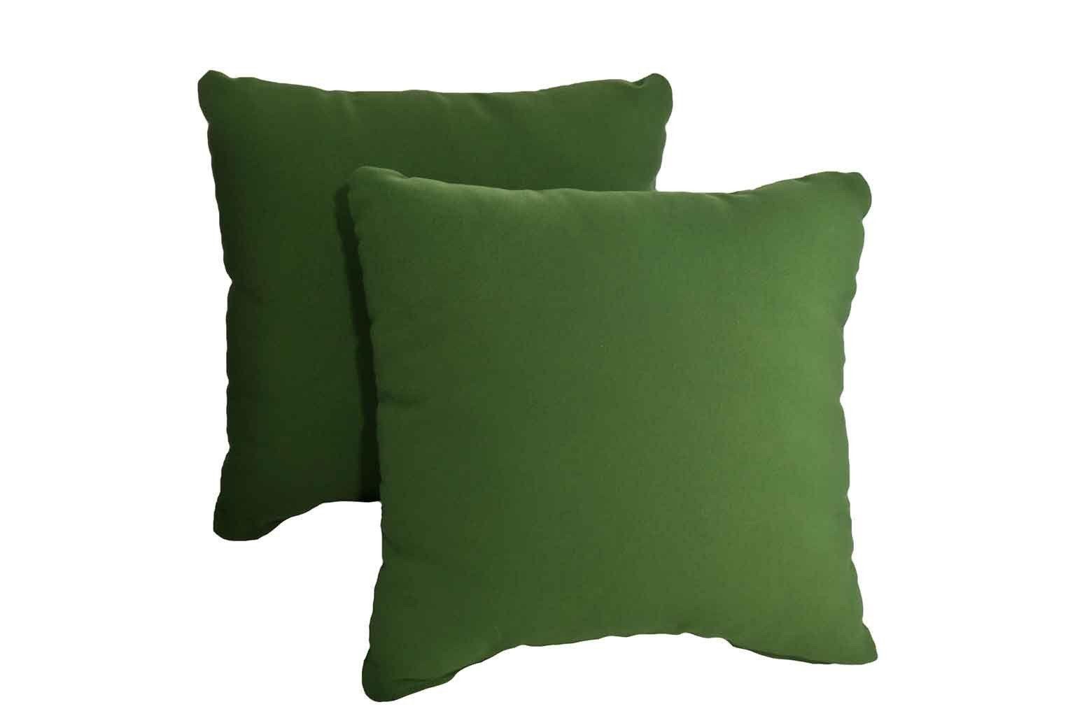 Hunter green pillows set of green pillows pillows and outdoor
