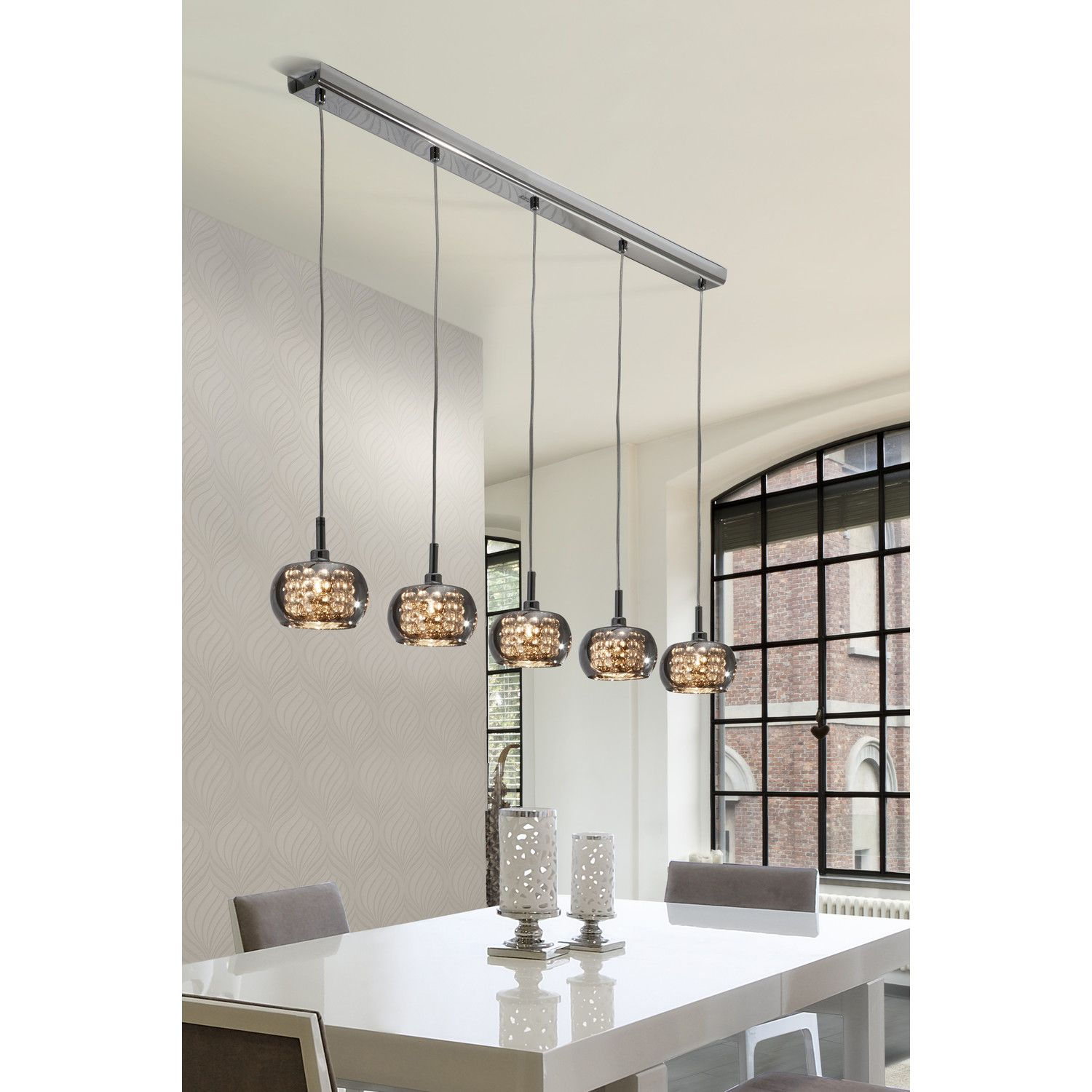 Arian 5 Light Kitchen Island Pendant | Kitchen | Pinterest