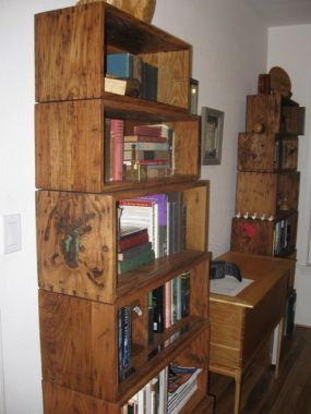 Thomas Jeffersons Stacking Bookcase Boxes Perfect For Anyone Who Has A Library That Needs To Be Moved Periodically