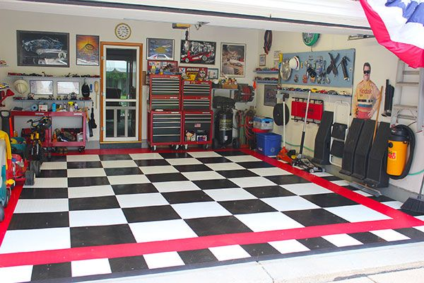 Race Deck Garage Flooring, Race Deck Garage Floor Tiles