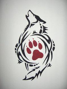 Wall painting stencils designs - Huellas De Lobo Png Buscar Con Google Arte Pinterest Huella