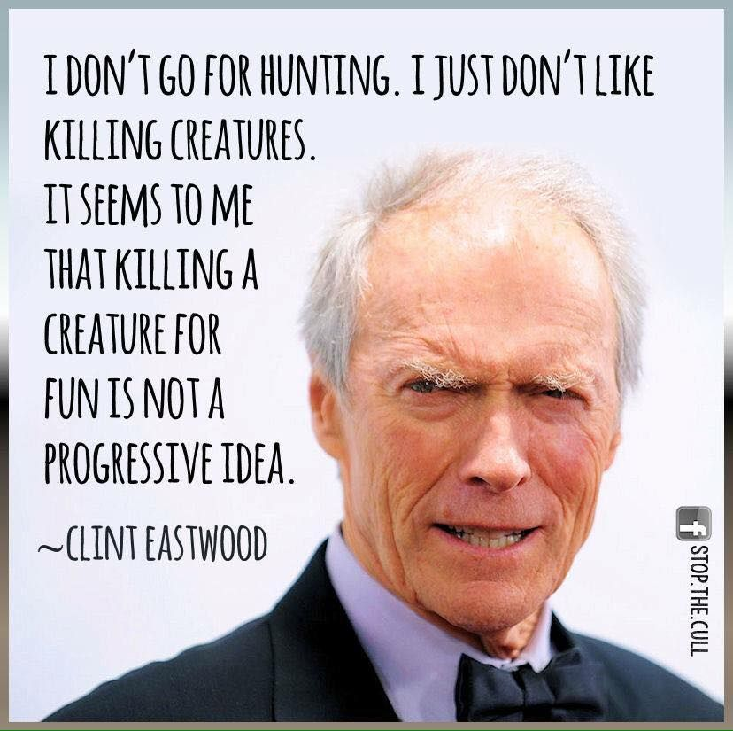 Clint Eastwood quote �...