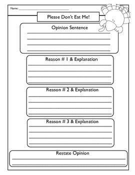 Thanksgiving Turkey Persuasive Opinion Writing Persuasive Writing Opinion Writing Elementary Reading