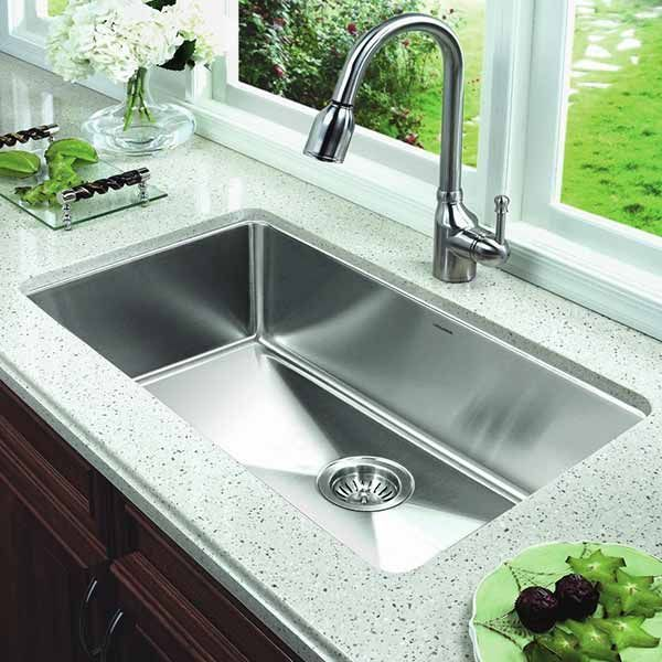 Single Bowl Kitchen Sink Undermount Kitchen Sinks Best Kitchen Sinks Kitchen Remodel