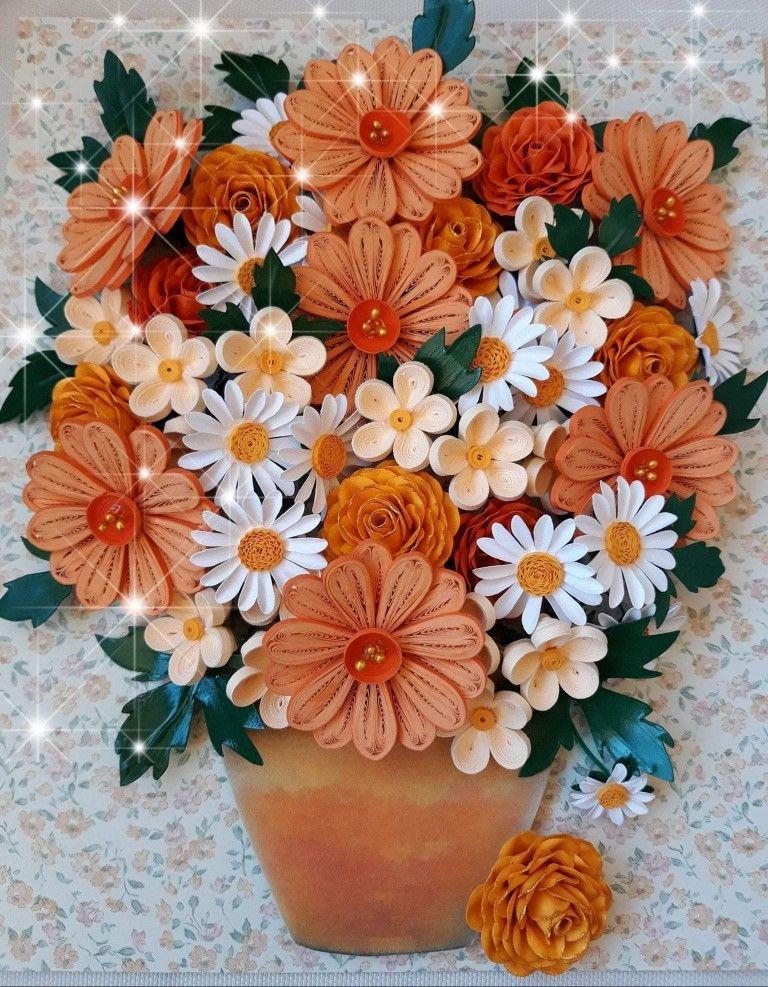 Pin By Ewa Dyk Majewska On Kvilling Paper Quilling Flowers Quilling Designs Quilling Flowers
