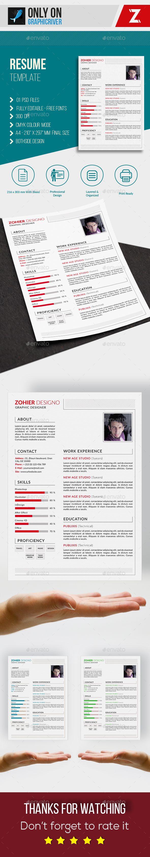 Resume Template | Resume Templates | Pinterest