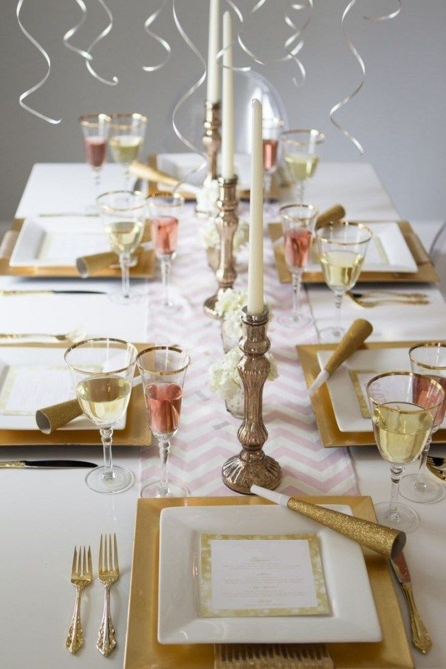 48 Awesome New Year S Eve Table Decorations Ideas