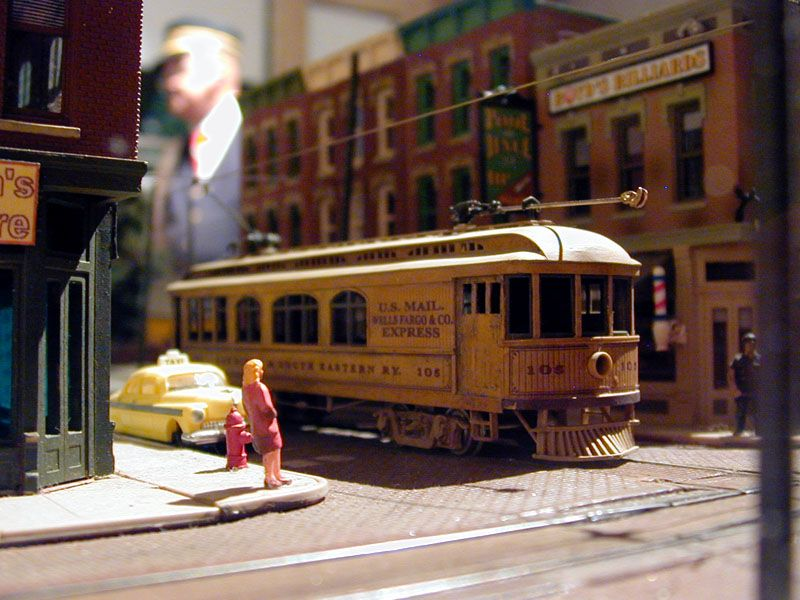 Model Trolley Layouts