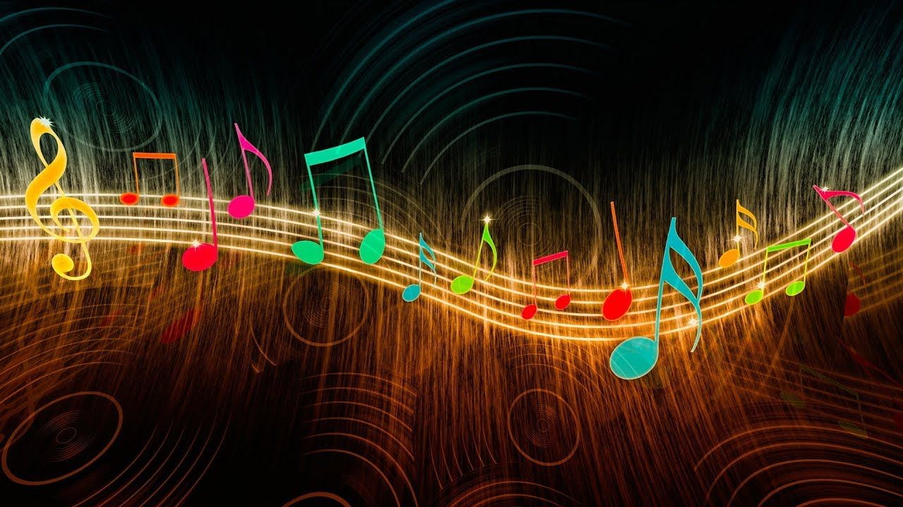 Musicas De Fundo Para Video Musicas Para Fundo De Video Músicas De F Nota Musical Desenho Simbolos Musicais Fundo Para Video
