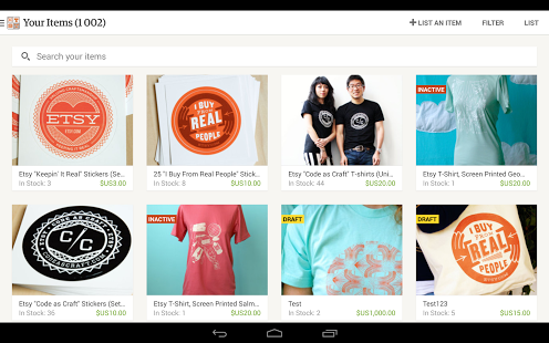 Sell on Etsy Android Apps on Google Play Sell on etsy