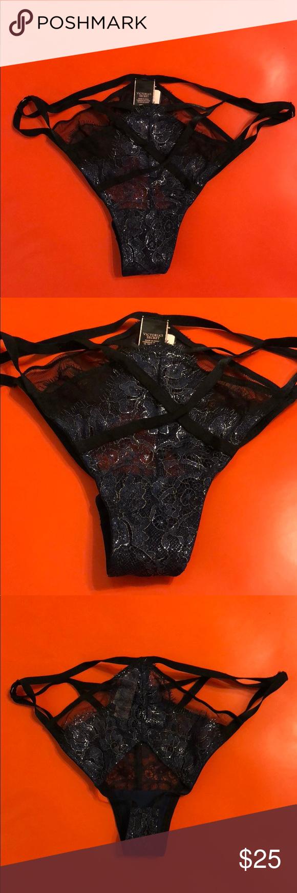 fbb094015b4 Victoria s Secret Lace Open Back Panties Size S Victoria s Secret Lace Open  Back Panties Size S Victoria s Secret Intimates   Sleepwear Panties