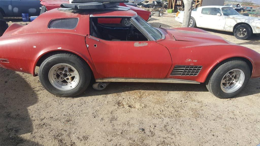 1972 Corvette project listed for sale on L A 's craigslist