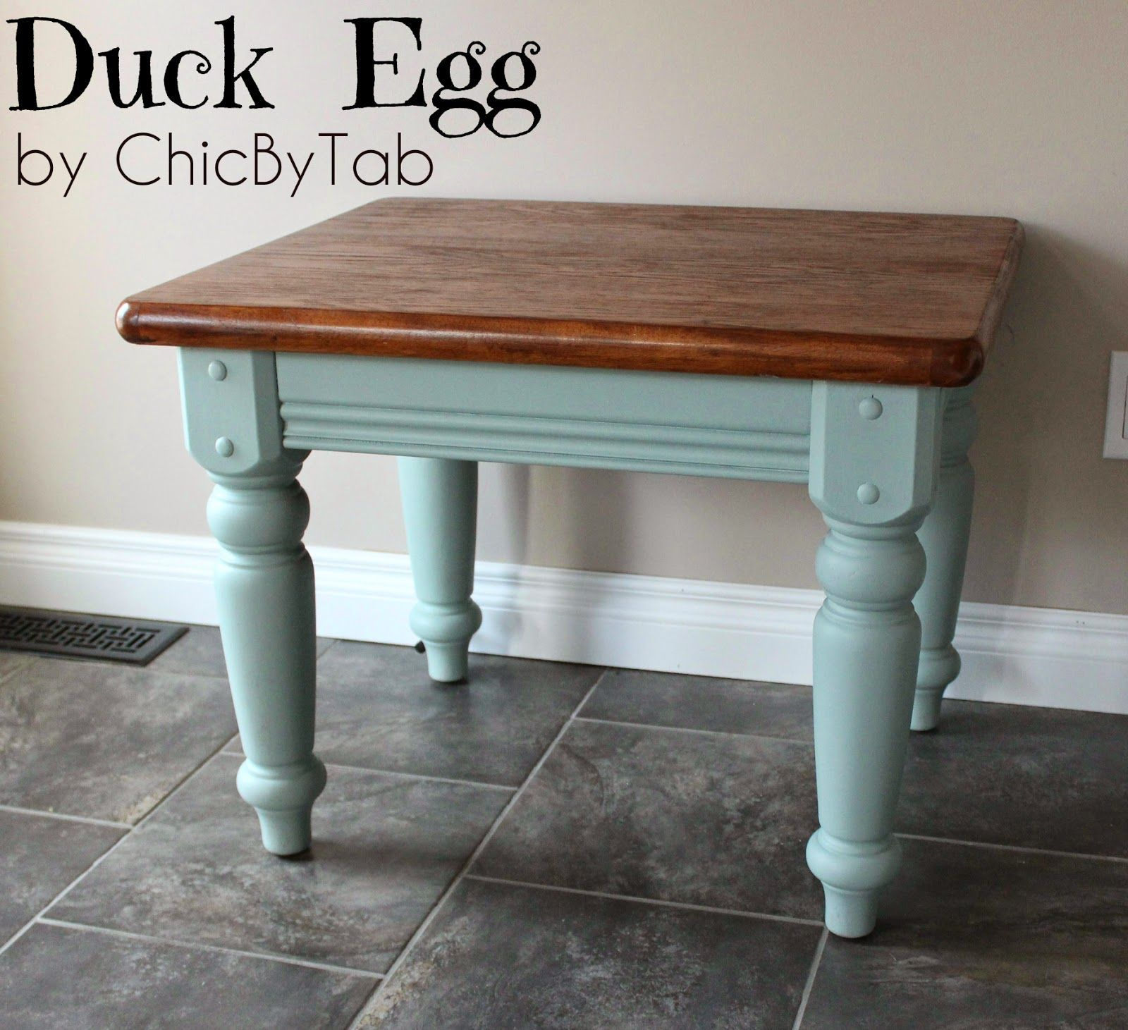 ChicByTab Coffee Table Make Over 2 shorr Pinterest