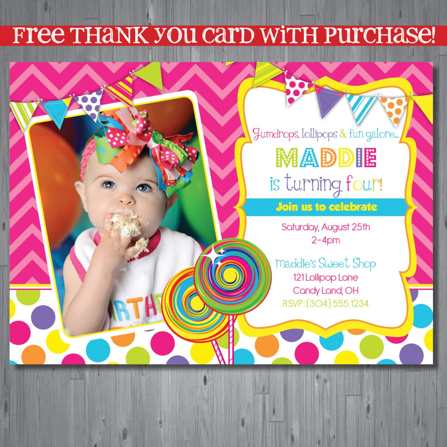 candy+shop+Birthday+Invitation+candy+shop+party+by+AbbyReeseDesign ...
