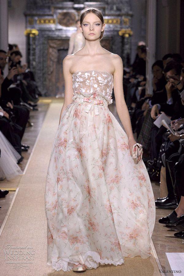 Valentino haute couture gown
